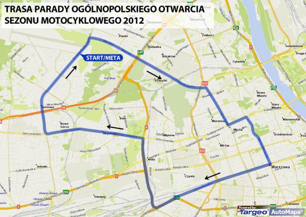 Trasa parady targeo.pl /tvn24