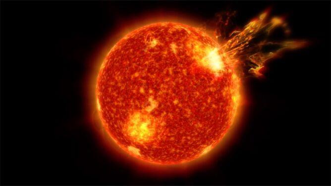 Czy życie na Ziemi zawdzięczamy burzom słonecznym?