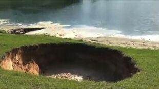 """Ziemia zapadła się na Florydzie. """"To brzmiało jak wybuch bomby"""""""