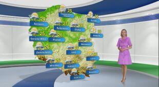 Prognoza pogody na poniedziałek 12.07