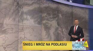 Mroźna pogoda w Polsce